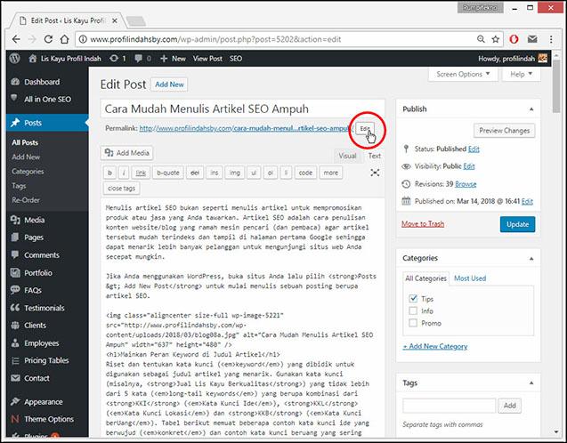 Tingkatkan Peringkat Website Dengan 10 Jurus SEO